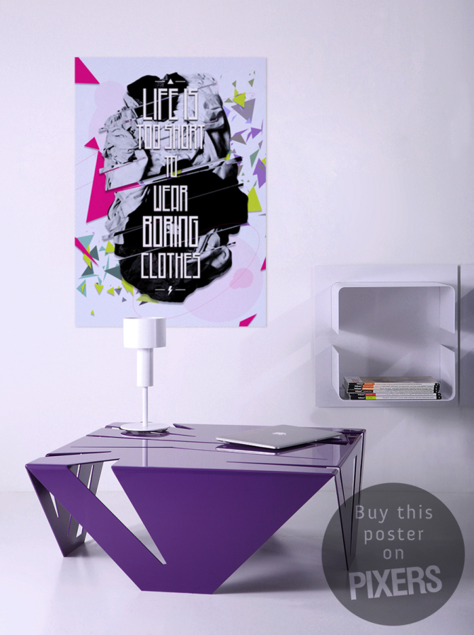 Adhesive poster board for prints 20x16