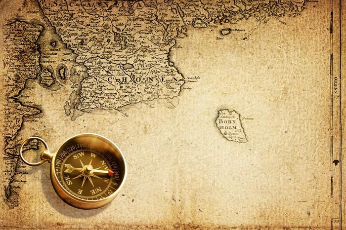 Карта и компас  № 2942006 загрузить