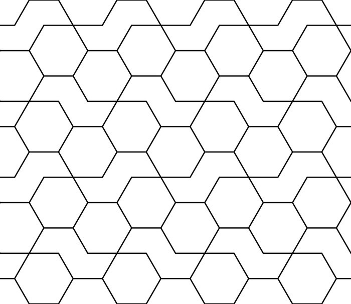 Hexagon pattern png