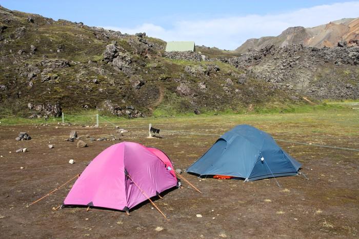Camping baga