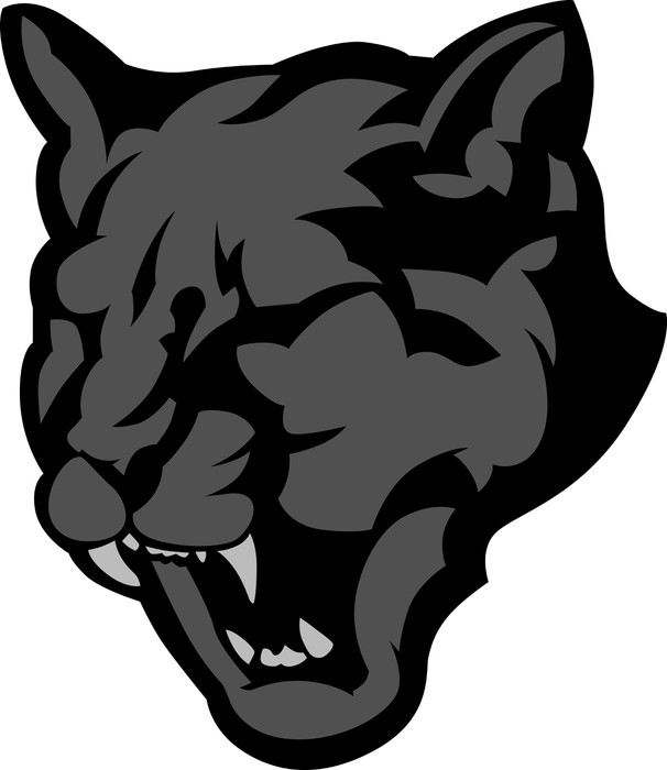Panther head clipart
