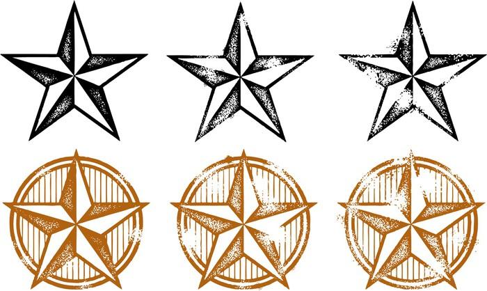 Western star clip art