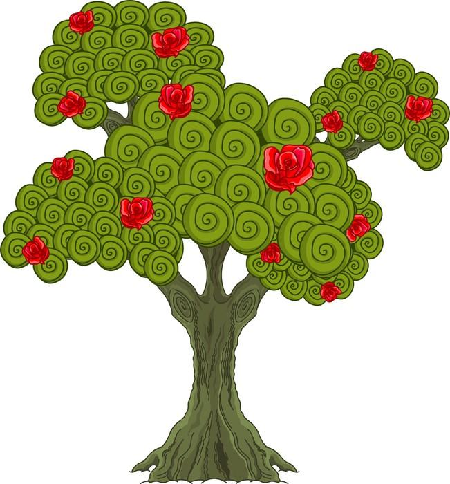 Дерево чудес рисунок