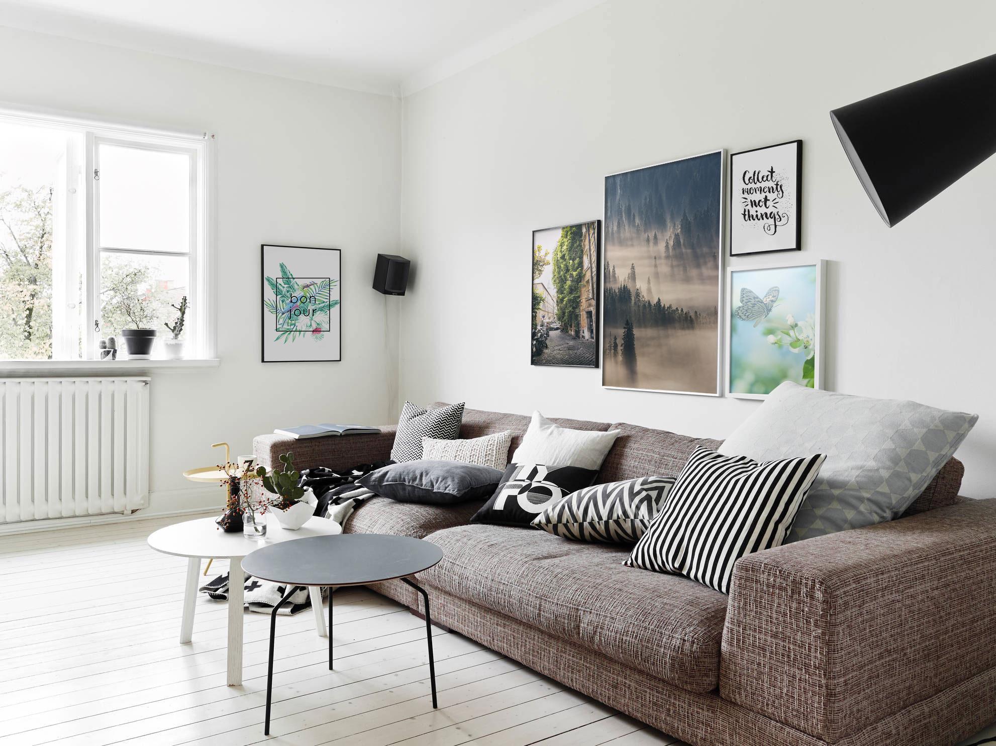Nature Walk • Scandinavian - Living room - Art & lifestyle - Nature - Landscapes - Posters