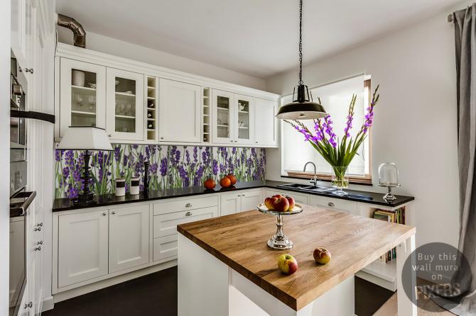 Lavendel Küche 2 • Provenzalisch - Küche • Pixers® - Wir leben, um ...
