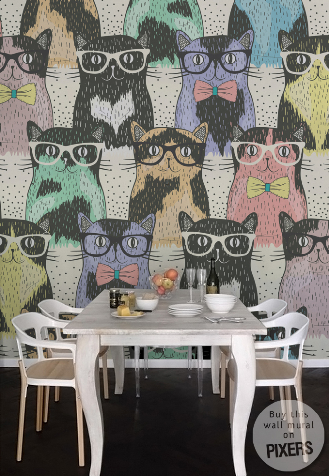 Cats • Dining room - Provencal