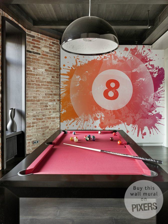 Eight Ball • Industrial - Gamer's room