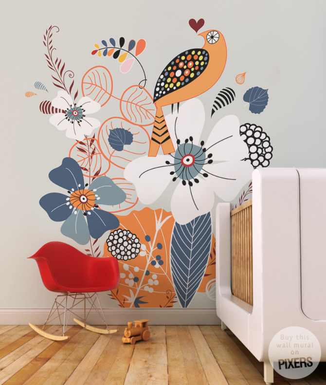 Cuckoo • Scandinavian - Kids room