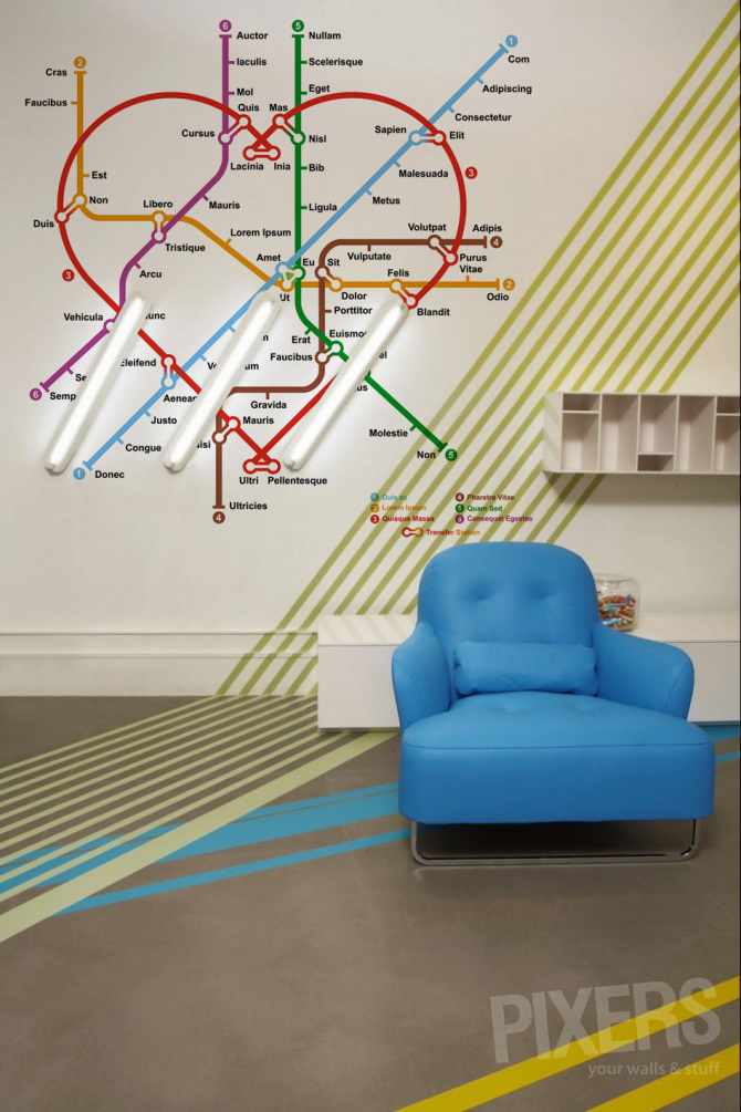 Underground • Living room - Contemporary