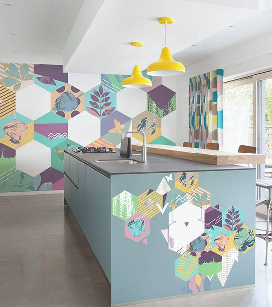 Stickers - Geometric Kitchen