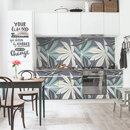 Stickers Kitchen - Scandinavian Leaves
