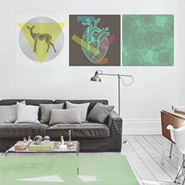 Posters Living Room - World's Geometry