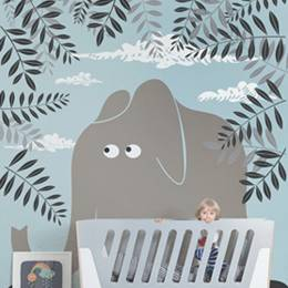 Wall Mural Kids Room - Elephant