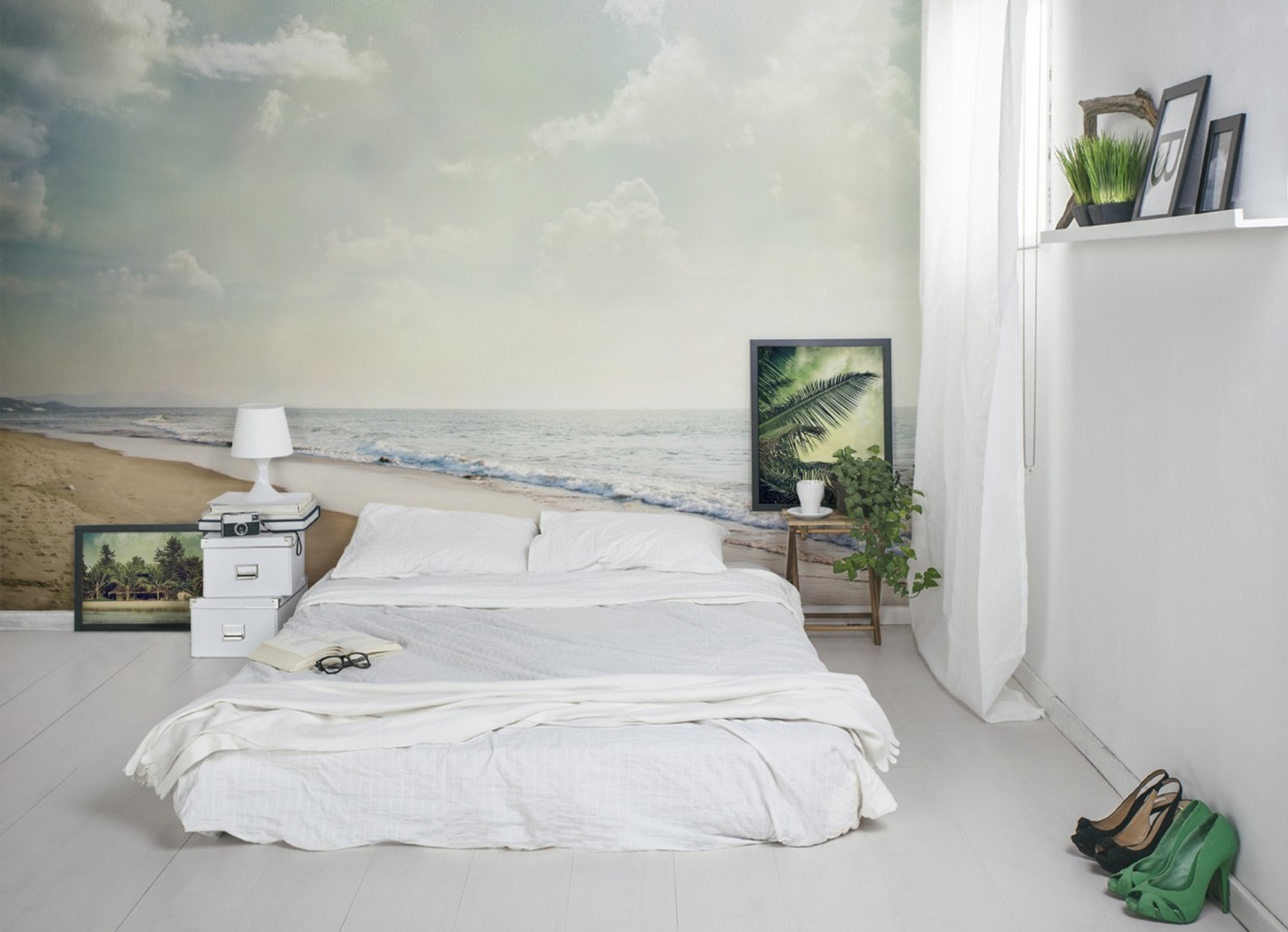 Exotic Journey • Scandinavian - Bedroom - Flowers and plants - Landscapes - Wall Murals - Posters