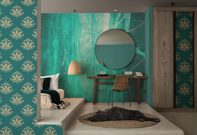 Camere Da Letto Turchese : Sogno turchese u scandinavo per camera da letto carte da