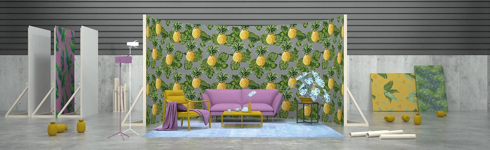 Naklejki - Keep Warm, it's a Pineapple