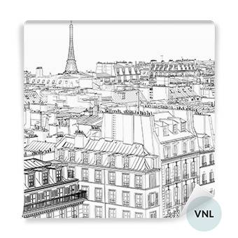 Wall Mural - Roofs in Paris
