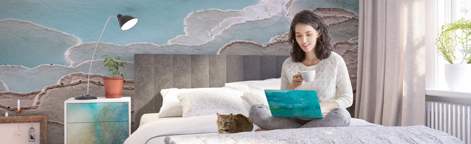 Fototapeta a nálepky do ložnice - Relaxace