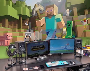 Minecraft   Pixeru0027s Wall Mural