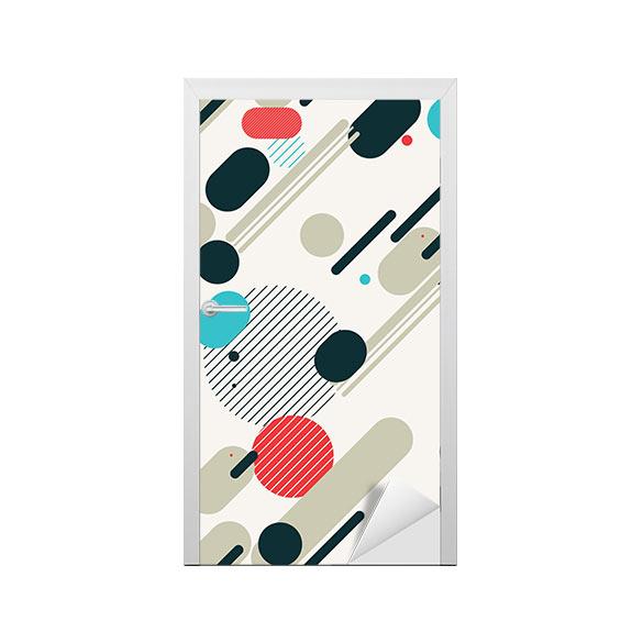 sticker pour porte licorne au clair de lune pixers nous vivons pour changer. Black Bedroom Furniture Sets. Home Design Ideas