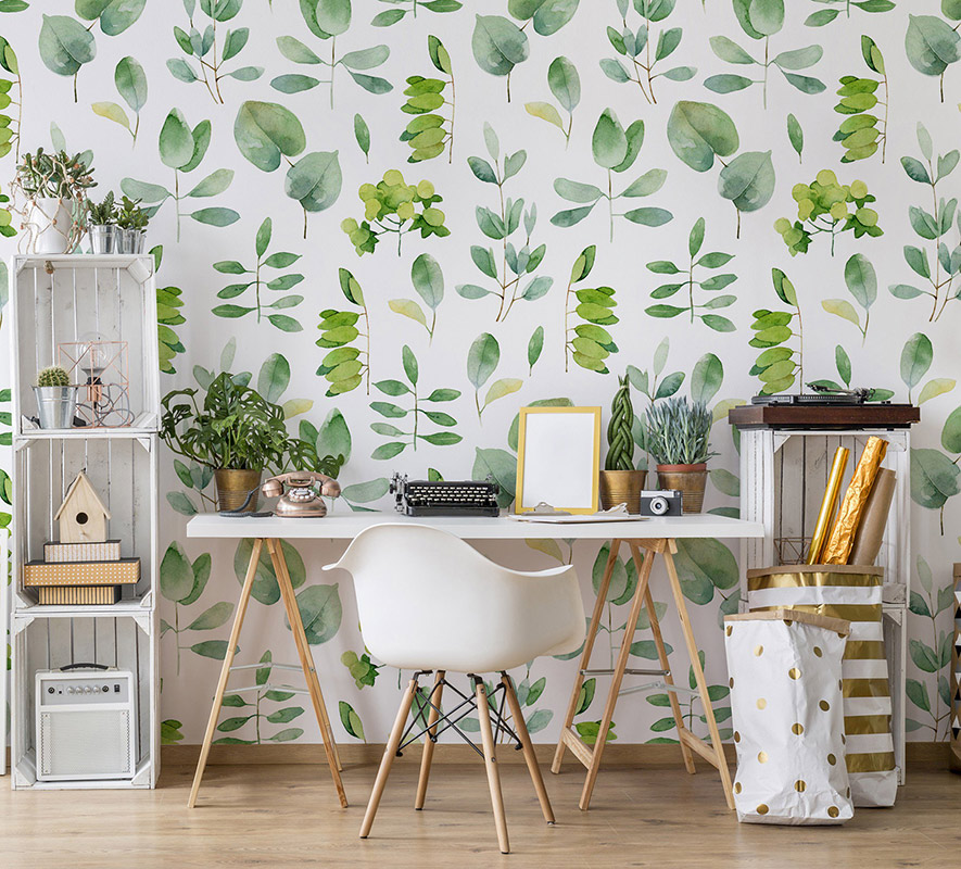 Home herbarium • Contemporary - Office - Nature - Wall Murals