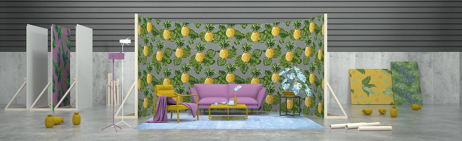 Dekorer - Ananasfeber