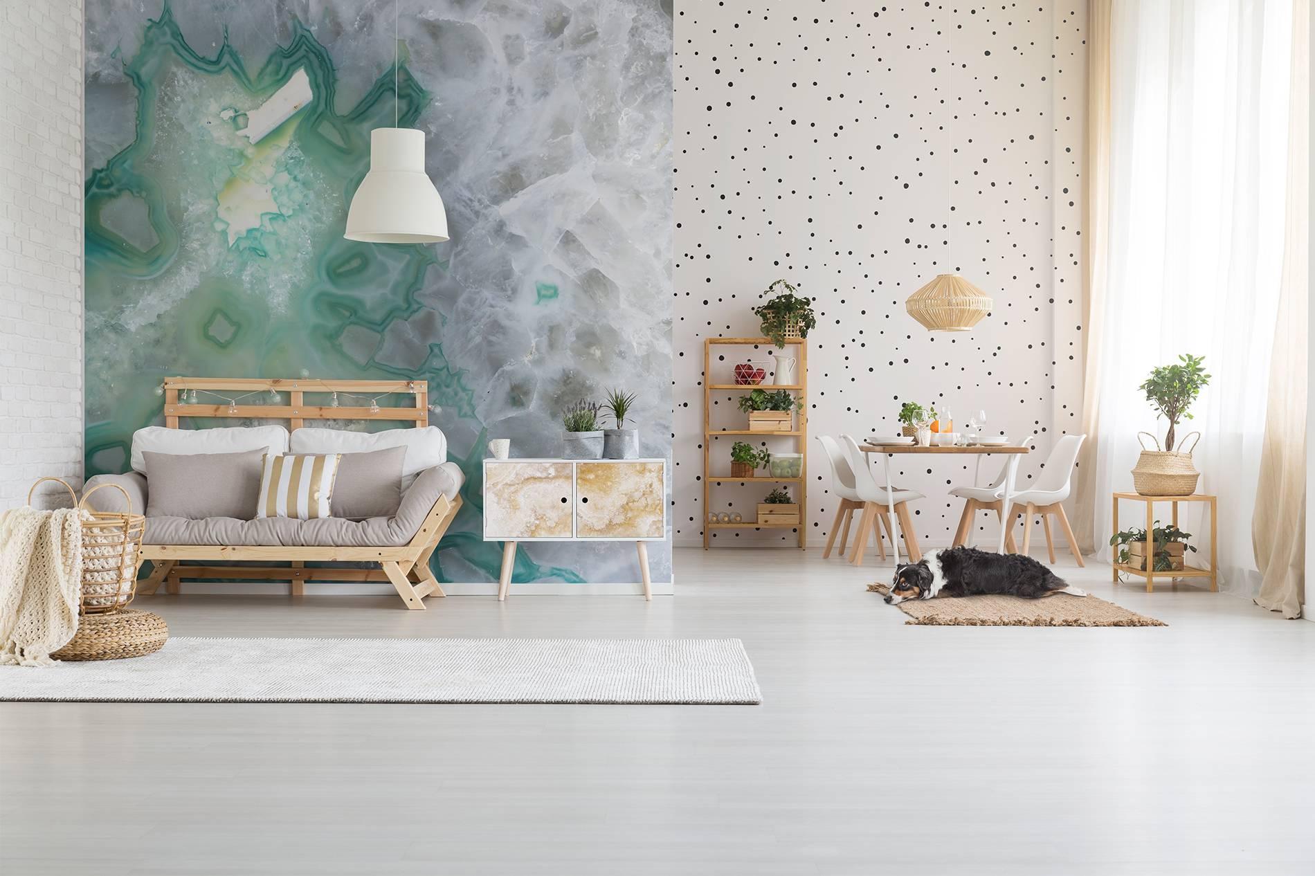 Bright living room • Living room - Contemporary