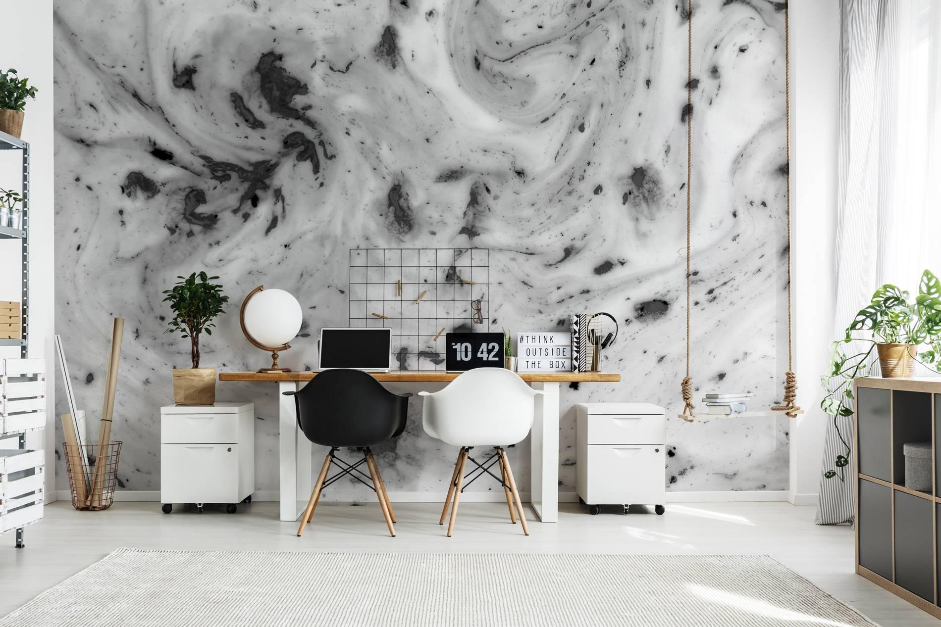 Blanc avec un mélange de noir u2022 contemporain pour bureau papiers