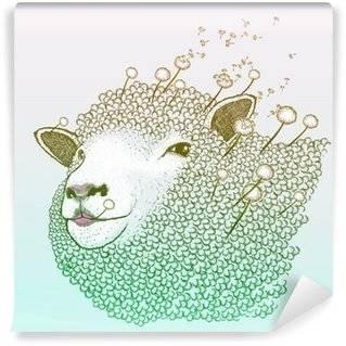 Carte de parati Pecore