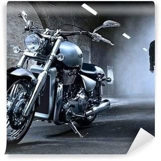 Fotobehang Harley-Davidson
