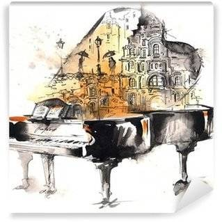 Piano Wall Murals