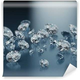 Diamonds Wall Murals