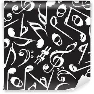 Music notes Wall Murals