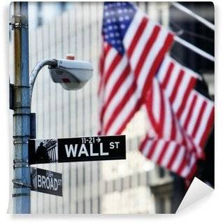 Wall Street Wall Murals