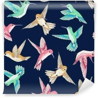 Hummingbirds Wall Murals
