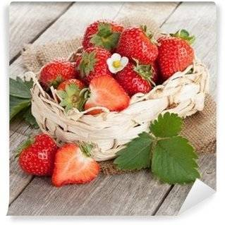 Strawberries Wall Murals