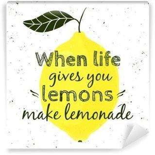 Fototapeten Zitronen
