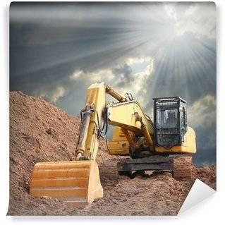 Fotomurales Excavadoras
