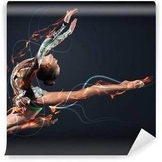 Fotobehang Gymnastiek