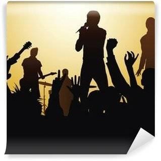 Fotobehang Concert