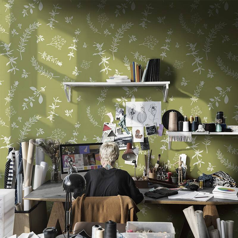 Creative workshop • Contemporary - Office - Nature - Wall Murals
