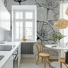 Wall mural for kitchen - Ceglana ściana