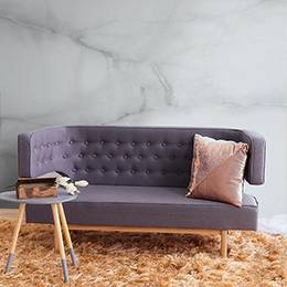 Wall mural for the living room - Raw and elegant marble