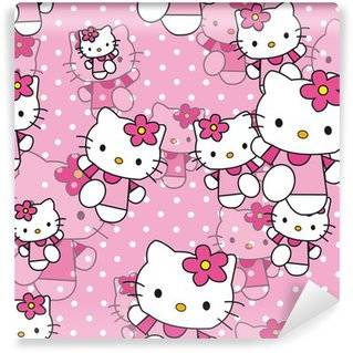 Carte de parati Hello Kitty