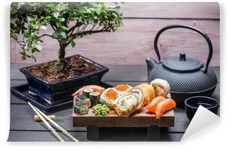 Fotobehang Sushi