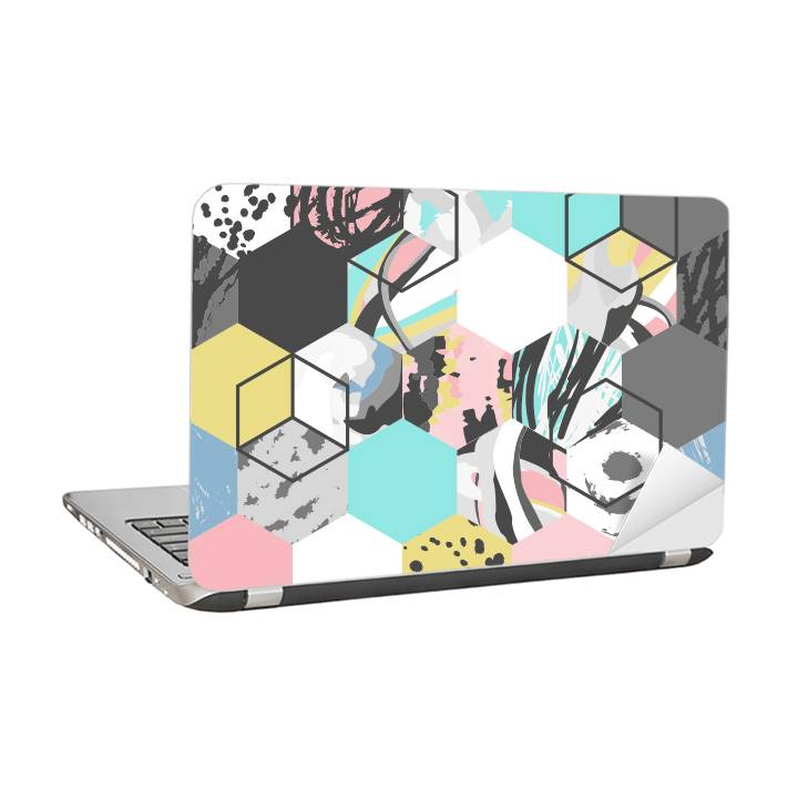 Laptop sticker - Figures and lumps
