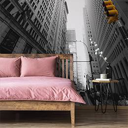 Wall mural for the living room - Street in New York