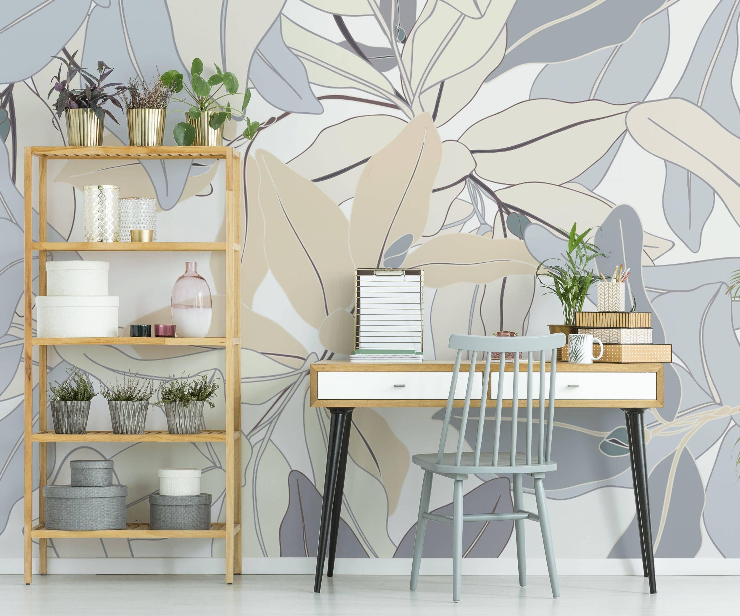 Bureau de lusine u2022 contemporain pour bureau papiers peints