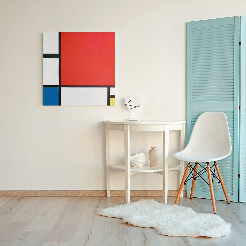 ROT, BLAU, GELB • Wohnzimmer - Modern - Bilder - Kunst und Lifestyle ...