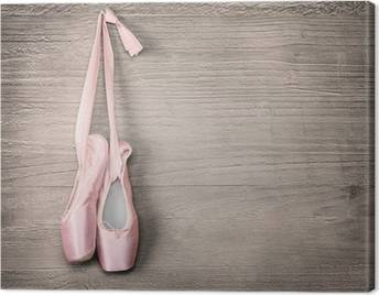 Dancing shoes Canvas Prints